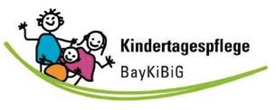 Kindertagespflege BayKiBiG Logo